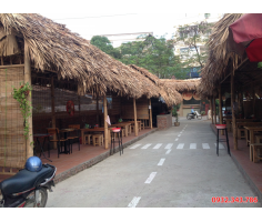 Thi công nhà tre mái lá tại Quảng Ninh