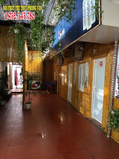 Trúc trang trí nhà hàng Kim Đồng