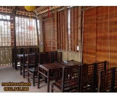 Thiết kế Thi Công Nội thất tre trúc quán cafe