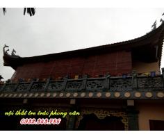 mành tre che nắng nhà cổ đình đền chùa